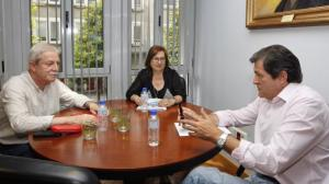 20150708 LNE - Javier Fernandez y sindicatos