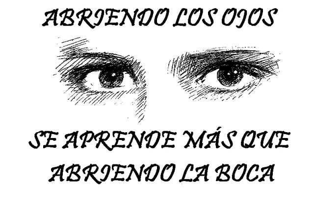 Abriendo los ojos