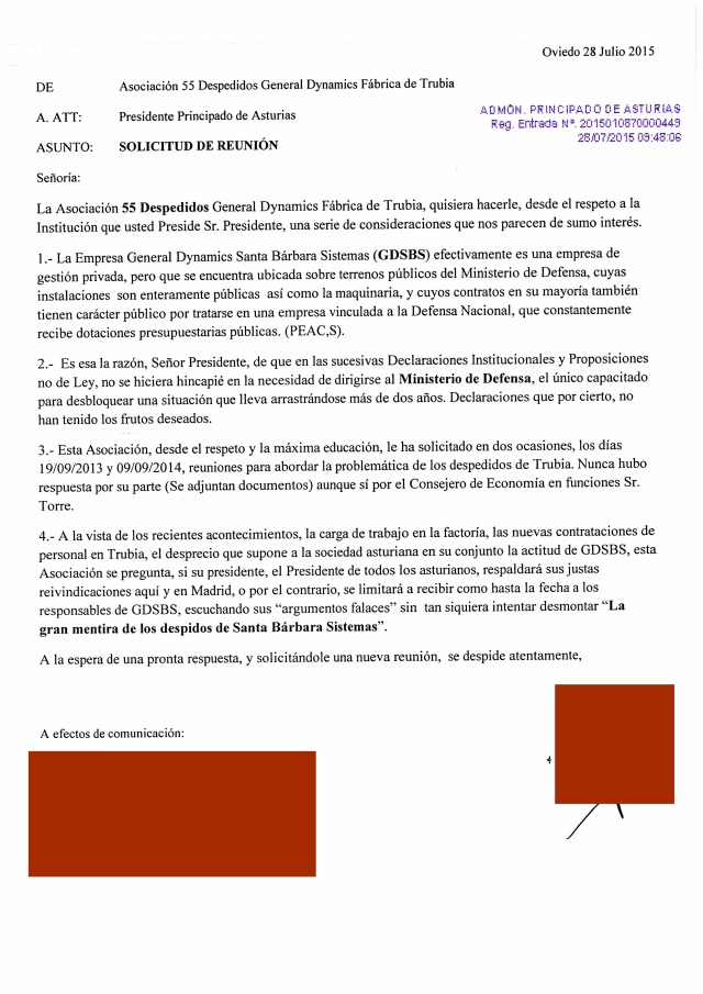 20150728 Carta a Javier Fernandez