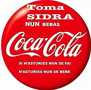 Nunbebas coca cola - chapa