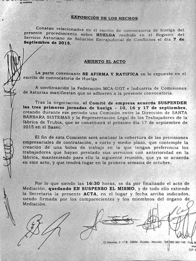 20150909 Acto conciliacion GD - Comité Trubia