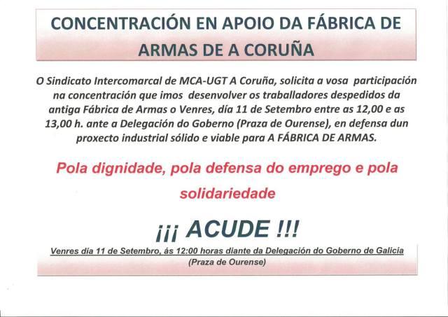 20150911 Cartel convocatoria Despedidos Coruña