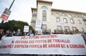 20151017 La Opinion A Coruña - Concentracion FAC