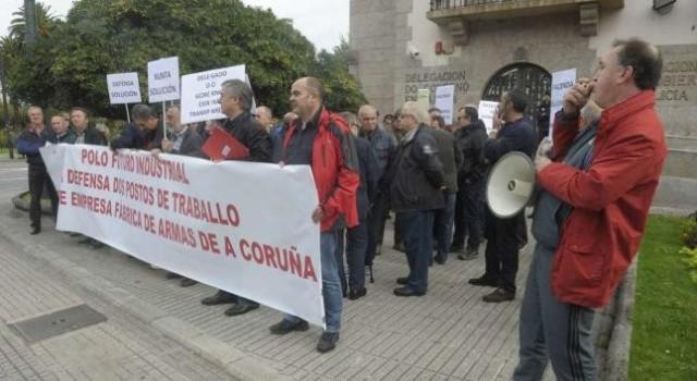 20151031 La Opinion A Coruña - FAC protestas