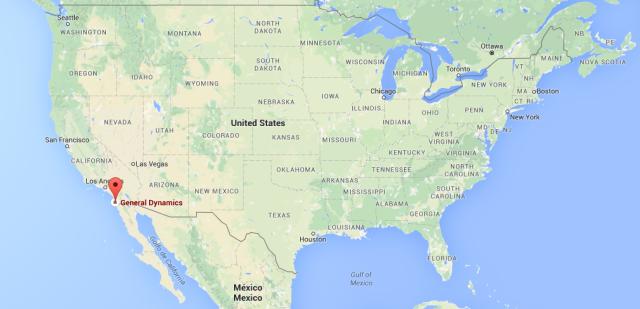 Nascco Norfolk - situacion mapa