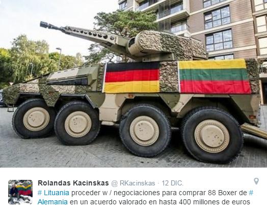 20151212 Twitter - Kacinskas embajada lituana en Alemania