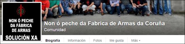 Non o Peche da Fabrica de Armas da Coruña - logo 1