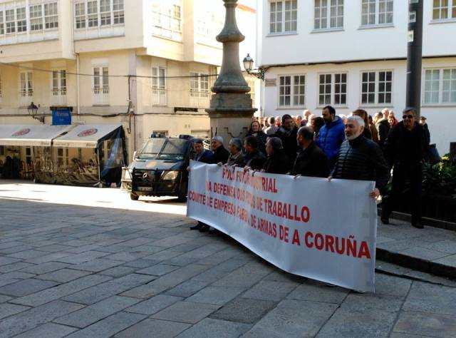 20160129 Coruña - Nueva concentración despedidos