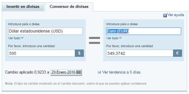 20160129 dolares a euros