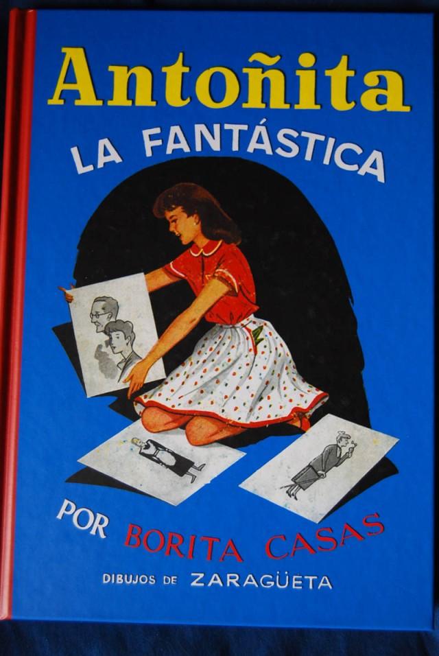 Libro Azul de Antoñita la fantastica