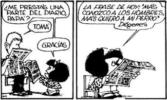 mafalda - opinion prensa - recorte