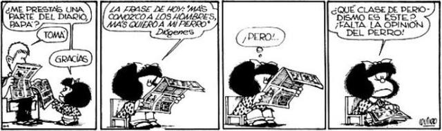 mafalda - opinion prensa