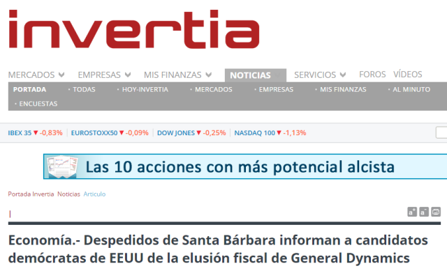 20160218 Invertia - 55 despedidos