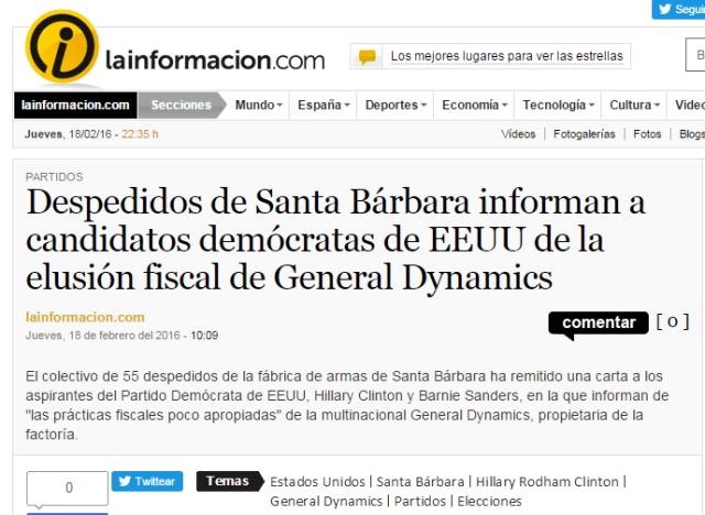 20160218 La Información América