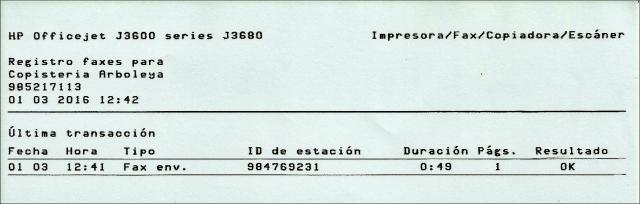 20160303 Fax concentracion - Confirmacion