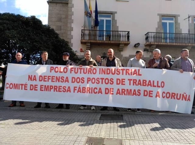20160311 Coruña - concentracion Delegacion Gobierno