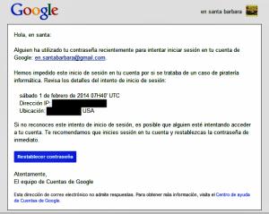 20140201 Simpatico mensaje de Google - copia