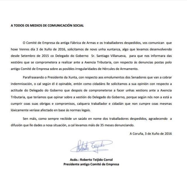 20160603 Carta Comite Coruña