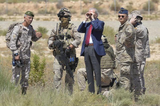 20160617 La Verdad - Morenes pide que se aumente el gasto en defensa
