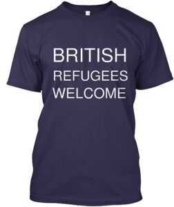 British refugees - Camiseta