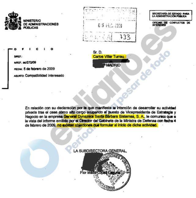 20160807 eldiario_es - autorizacion a Carlos Villar