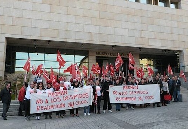 20160901 Cuartopoder - protesta-trabajadores_Proman